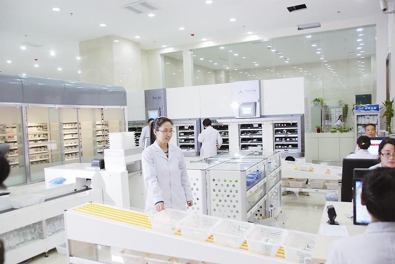 长治日报:市医院自动化药房投入使用