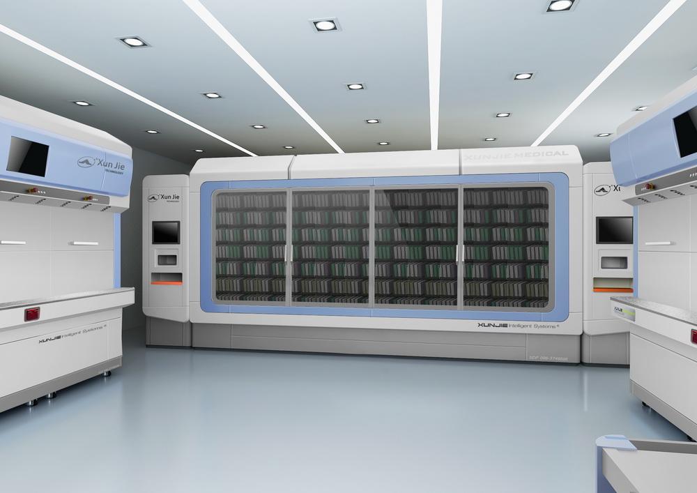 快速发药系统和智能存取系统效果图