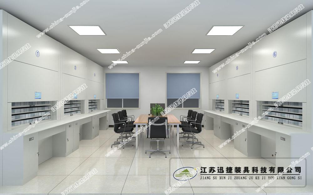 上海武警某支队智能档案柜